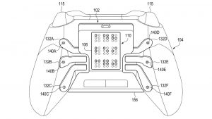 Haptic Braille output for a game controller